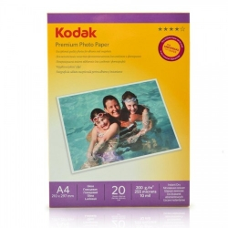 Kodak Glossy Hartie Foto A4 20 Coli 200gr