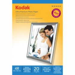 Kodak Rc Ultra Premium Glossy Hartie Foto 10x15 20coli 270gr