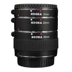 Kooka Kk-se47 Set Tuburi Extensie (inele Macro - 1