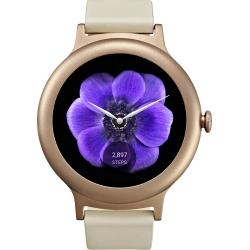 Lg Style W270 - Smartwatch Otel Inoxidabil Roz  Cu