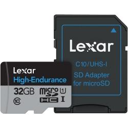 Lexar High Endurance - Card Microsdhc Uhs-i 32gb +