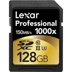 Lexar Professional Sdxc 128gb 1000x Uhs2  150mb/s