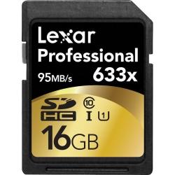 Lexar Sdhc 16gb 633x Professional Class 10 Uhs-i Bulk125018824-2