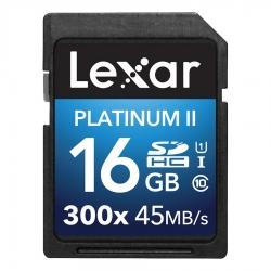 Lexar Sdhc Platinum Ii 16gb - Card Uhs-i  300x  Clasa 10  45mb/s