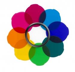 Manfrotto Mlfiltercol - Set Filtre Multicolor Pent