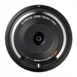 Olympus Body Cap Lens 15mm F8.0 Negru - Rs12500290