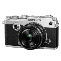 Olympus Pen-f 17mm F/1.8 Kit Slv/blk
