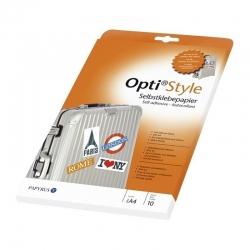 Opti Adhesive Paper A4 10coli