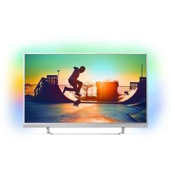 Philips 49pus6482/12 - Televizor Smart  Android 6.0  Ambilight Pe 3 Laturi  4k Ultra Hd  123 Cm