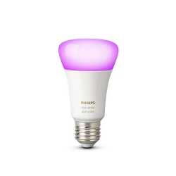 Philips Hue A60 - Bec Inteligent Led  E27 10w  Wi-fi  Ambianta Alb Si Color