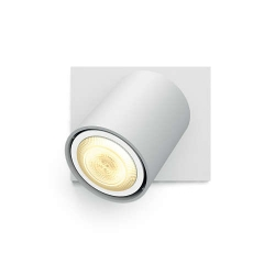 Philips Hue Spot Runner - Bec Led Gu10  5.5w  Wi-fi  Lumina Alba Reglabila + Intrerupator  Alb