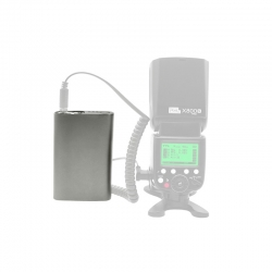 Pixel Td-386 - Baterie Externa 5200mah Pentru Blit-uri Nikon