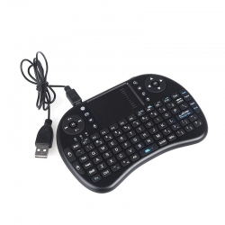 Rii Rtmwk08 - Mini Tastatura Wireless 3 In 1 Compatibila Smart Tv