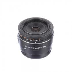 Sh Sony Sam 30mm F/2.8 Dt Macro - Sh125037320