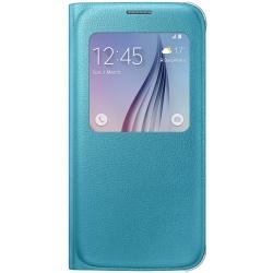 Samsung Ef-cg920 - Husa Agenda Tip s-view Pentru Samsung Galaxy S6 (g920) - Albastru