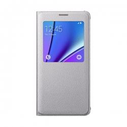 Samsung Galaxy Note 5 - Husa Agenda S View - Gri