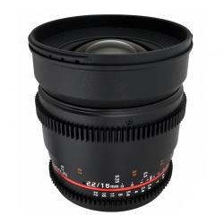 Samyang 16mm T2.2 Fuji X Vdslr