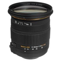 Sigma 17-50mm F/2.8 Dc Ex Hsm Os (stabilizare De I