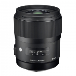 Sigma 35mm F1.4 DG HSM Nikon [A] - RS1051927-1