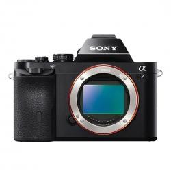 Sony A7 Body - 24.3mpx Full Frame  Af Hibrid  5 Fp