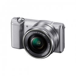 Sony Alpha A5000 Argintiu (ilce-5000l/s) + Sel16-5
