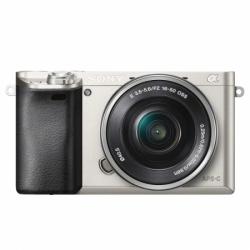 Sony Alpha A6000 Silver + Sel16-50mm F3.5-5.6 Wi-f