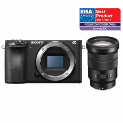 Sony Alpha A6500 Kit Selp 18-105mm F/4 G  Negru