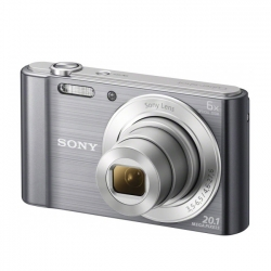 Sony Dsc-w810 Argintiu 20 1 Mpx  Zoom Optic 6x  Hd 720p