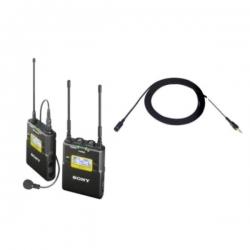 Sony Uwp-d11/k33pro - Kit Lavaliera  Transmitator  Receptor Wireless Si Microfon Ecm-77bmp