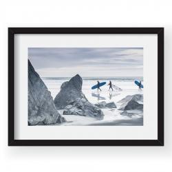 Surfers In The Arctic - Tablou 40x60cm Alex Conu 0