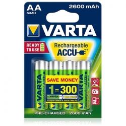 Varta - Acumulatori Reincarcabili Aa R6 2600 Mah