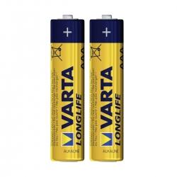 Varta Longlife - Baterie Alcalina Aaa  2 Bucati/ B