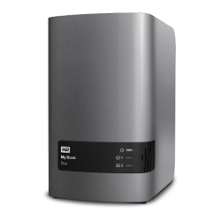 Wd My Book Duo 8tb - Hdd Extern Usb 3.0 - Charcoal