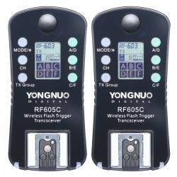 Yongnuo Rf 605c - Set Declansatoare Radio Pentru C