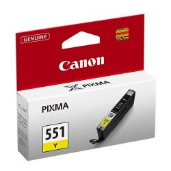 Canon Cli-551y - Cartus Cerneala Galbena Pentru Canon Ip7250