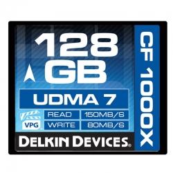 Delkin Cf 128gb 1000x - Card De Memorie Udma 7