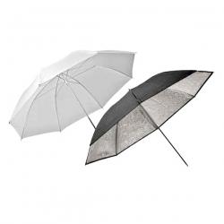 Elinchrom #26062 Umbrella Set Silver-translucent 8