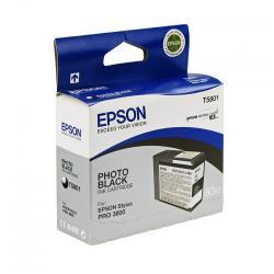 Epson T5801 - Cartus Imprimanta Photo Black Pentru