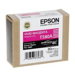 Epson T580a - Cartus Vivid Magenta (stylus Pro 388