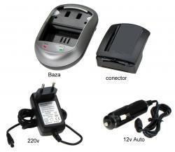 Incarcator Pentru Acumulatori Panasonic Vw-vbn130/