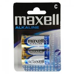 Maxell Tip R14 (c) - Set 2 Baterii Alcaline