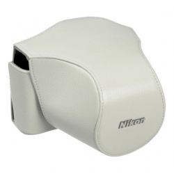 Nikon Cb-n1000sb Alb - Toc Piele Pentru Nikon V1 +