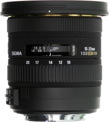 Sigma 10-20mm F/3.5 Ex-dc Hsm (new) For Pentax
