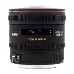 Sigma 4 5mm F/2.8 Ex Dc Fisheye Circular - Nikon A