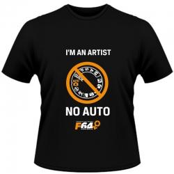 Tricou Negru - I Am An Artist (no Auto) - Xl