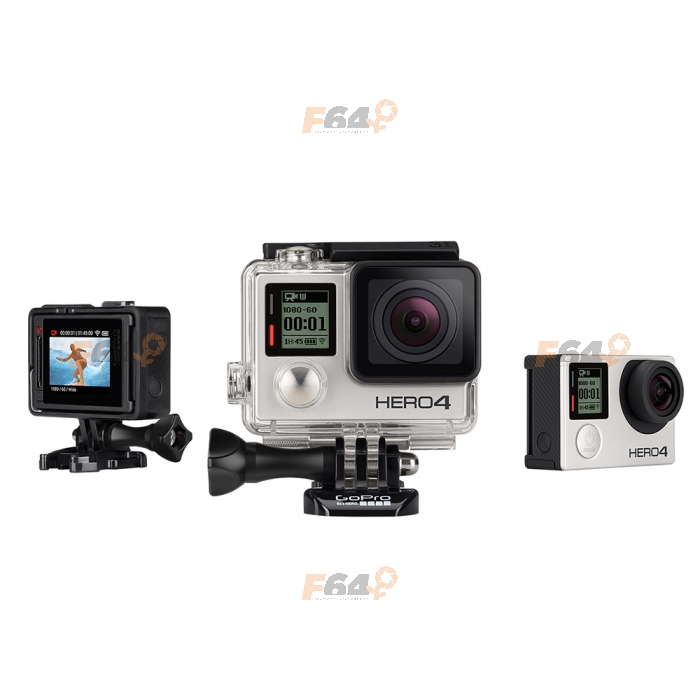 gopro hero 4 silver edition camera de actiune f64. Black Bedroom Furniture Sets. Home Design Ideas
