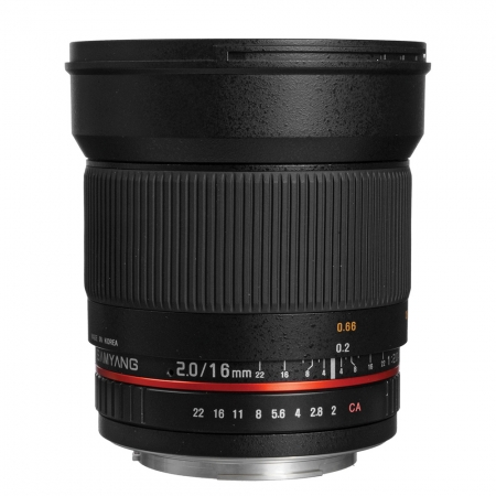 Samyang 16mm f/2 - montura Canon M