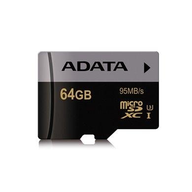 A-Data Premier Pro microSDXC 64GB Class 10 UHS-I 95MB/s
