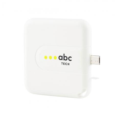 ABC TECH Baterie Externa Unica De Urgenta Cu Mufa Micro USB