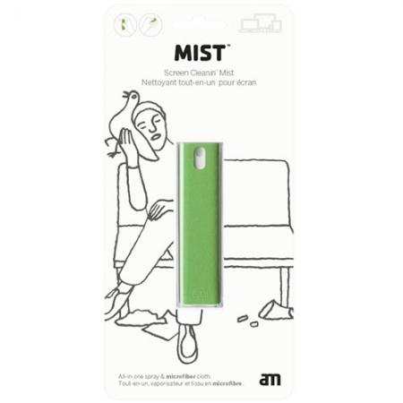 AM Clean Set Spray 10.5 ML+Panza Curatare Ecran, Verde